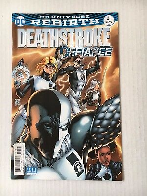 DC Comics: Deathstroke #21 Variant Edition (2017) - BN - Bagged and Boarded