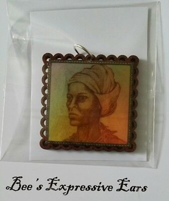 *single PENDANT*  NANNY OF THE MAROONS -by BEE'S EXPRESSIVES