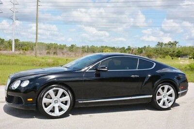 2012 Bentley Continental GT GT Coupe 2-Door 2012 CONTINENTAL GT V12 COUPE - ORIGINAL FLORIDA CAR - VERY WELL OPTIONED