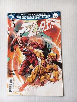 DC Comics: The Flash #27 Variant Edition (2017) - BN - Bagged and Boarded