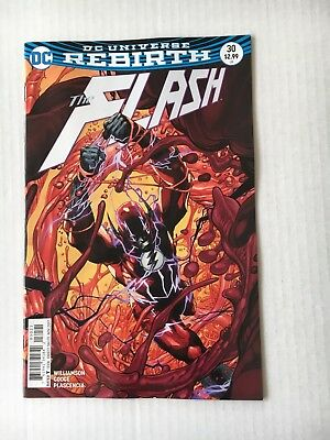 DC Comics: The Flash #30 Variant Edition (2017) - BN - Bagged and Boarded
