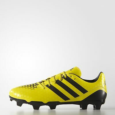 Adidas Incurza Rugby Fg Adults Yellow/Black Boots