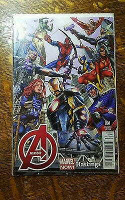 Avengers #1 Hastings New York Variant Marvel 2012 Thanos Guardians Of The Galaxy
