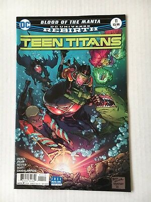 DC Comics: Teen Titans #11 (2017) - BN - Bagged and Boarded