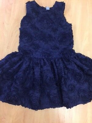 Girls M&S Signature Purple Party Dress Age 5-6