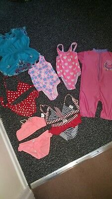 girls swimwear age 4/5