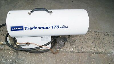 r white tradesman 170 ultra propane heater model cp170