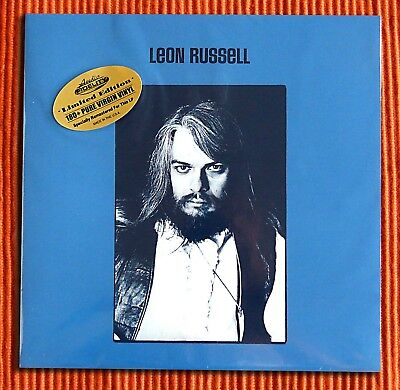 LEON RUSSELL - LEON RUSSELL  180g  Blue vinyl LP  Numbered Limited Edition New