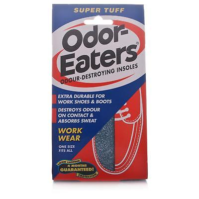 Odor-Eaters Super Tuff Odour Destroying Insoles**Free Post**