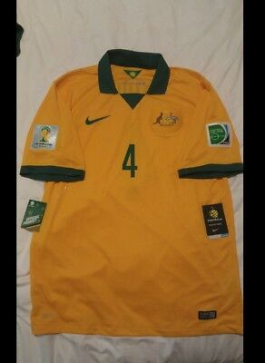 Socceroos world cup 2014 jersey no 4 Tim Cahill