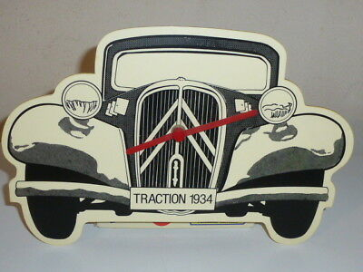Superbe Decoration Pendule Murale Citroen Traction Avant 1934