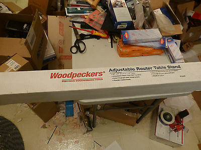 """Woodpecker Router Table Stand, 20' x 37"""", adjustable Height, NEW"""