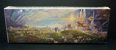 Disney EPCOT Center GE Horizons 'The Prologue and the Promise' Mural Jigsaw 1983