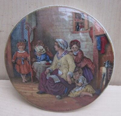 Antique Pot Lid. Hide and Seek..