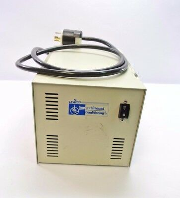 Leviton Line & Ground Conditioning 2000-LC 6 Outlet 20A 120V