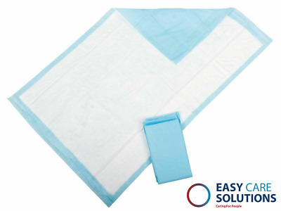Disposable Incontinence Bed Pads Protection Sheets 60 x 90 cm pk of 100 Sheets
