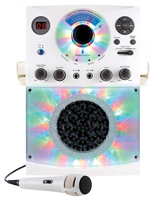 Singing Machine SML385 Karaoke Equipment with Bluetooth 1 Microphone and 36 Curr
