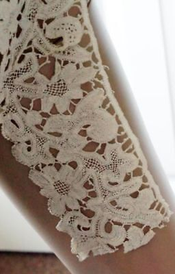 Vintage Long Length Milanese Lace?