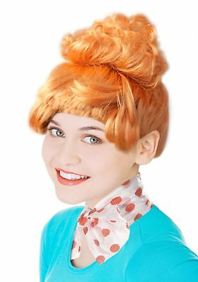 Frizzle Wig Lucy Wilde Wig Ideal for a Lucy Wilde Costume In Cartoon Orange