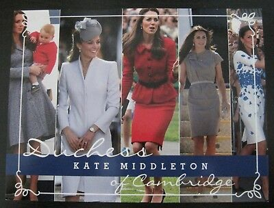 Catherine, Duchess of Cambridge Post Card with Five Portraits