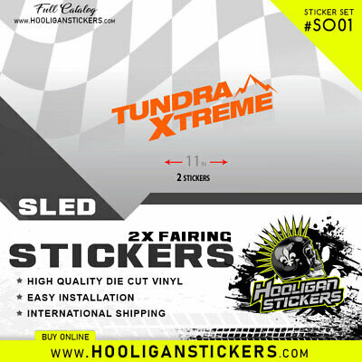 Ski-Doo Tundra Xtreme Stickers | Decal | All Years | Many Colors Tx01