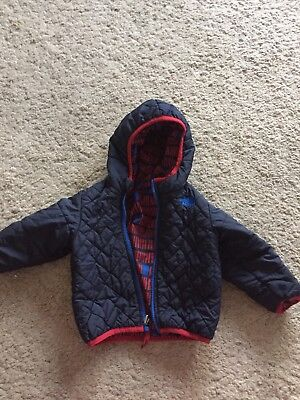 North Face Reversible Winter coat Age 12-18 Months