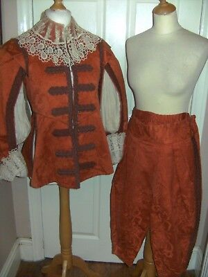 Mens Cavalier Theatrical Costume By The Royal Opera House Theatre Stage Show