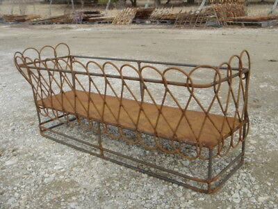 Wrought Iron 49 Heavy Window Box Large Decorative Container