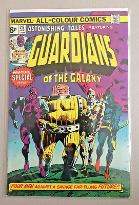Astonishing Tales 29 Marvel Comics 1st Guardians Of The Galaxy FN