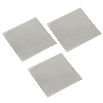 3x Stainless Steel 50 Mesh Micron True Filtration Screen Fine Wire Filter