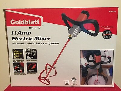 Goldblatt 11 Amp 2 Speed Electric Mixer Model # GO2742 Brand New !!