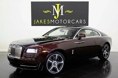 2014 Rolls-Royce Wraith ($363K MSRP) ROLLS ROYCE WRAITH, $363K MSRP! SPECIAL ORDERED CAR, ONLY 6500 MILES! LOADED!