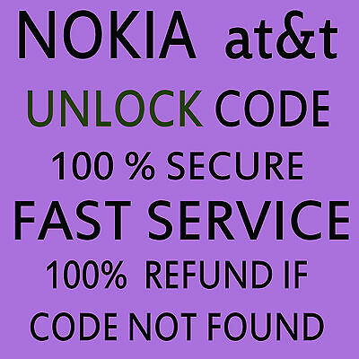 Unlock Code For At&t Usa Microsoft Nokia Lumia 950 Out Of Cotract Only