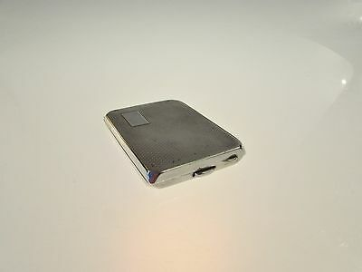 Solid Silver Card Case Chester E J Trevitt & Sons