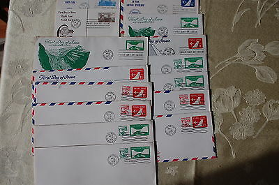 Canal Zone Embossed Postal Stationery Covers & Postal Cards