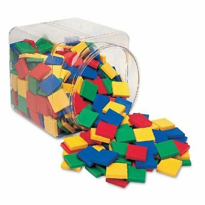 Learning Resources Square Color Tiles (Set of 400)