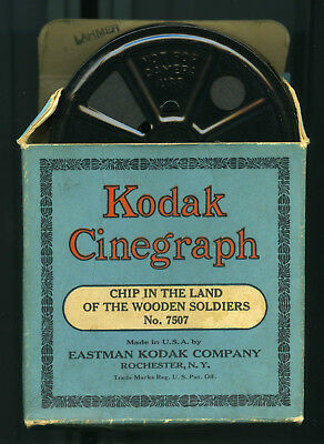 """1920S Kodak Cinegraph 16 Mm Film """"chip In The Land Of The Wooden Soldiers"""""""
