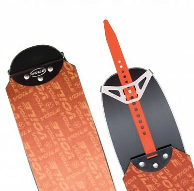 Voile Ski Skins w/Tail Clips — 110mm Trim-to-Fit Nylon Climbing Skins