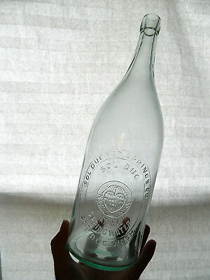 RARE Western Picnic Beer SOL DUC HOT SPRINGS Sol Duc WA Mineral water Bottle