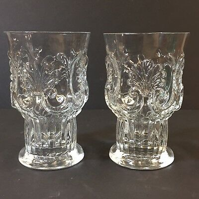 Met Museum Of Art Reproduction Early American Tall Tumbler Set of 2 Glasses