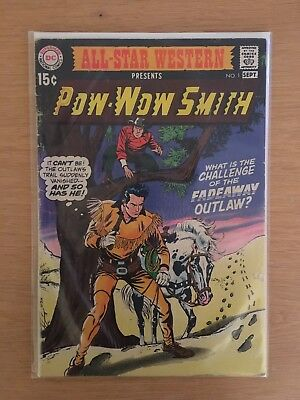 POW WOW SMITH #1  09/1970  DC COMICS  Cents Issue