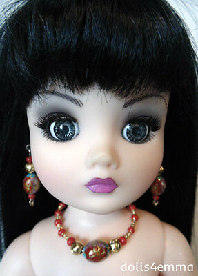 """OOAK DOLL JEWELRY - Cloisonne - for 21"""" CISSY and similar sized dolls - NO DOLL"""