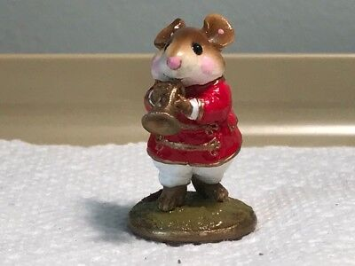 Wee Forest Folk Red Marching Band Trumpet