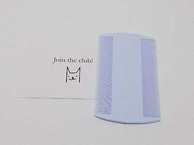 USA Durable Double Sided Nit Combs for Head Lice Kids Pet Flea Cats Dogs