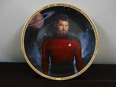 The Next Generation  Plate Collection 1993 Commander William T Riker