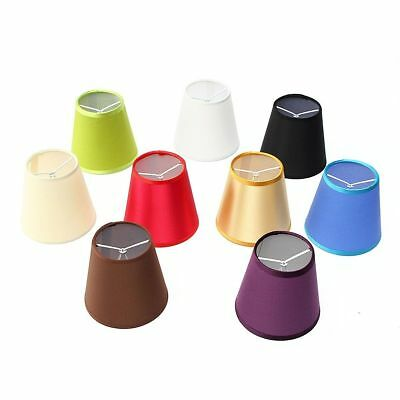9 Colors Fabric Chandelier Lampshade Holder Beside Bed Light Hanging Lamp Shades