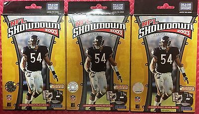 Three (3) 2003 NFL Showdown 2 Player Starters by WOTC NFL Football Card Game