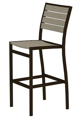 Swell Polywood Adirondack Bar Height Chair Sand 503 32 Picclick Customarchery Wood Chair Design Ideas Customarcherynet