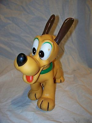 Vintage DisneySoft  Rubber Toy Pluto Made In Japan