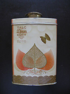 Lorigan Coty Talcum Powder Tin